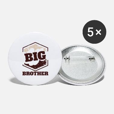 Big Big Brother Big Sister Big Brother BIG Badge - Small Buttons