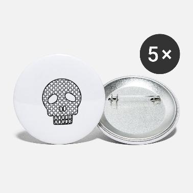 Brain Skull - Small Buttons