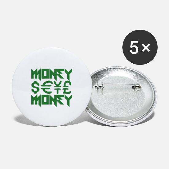 Capital Buttons - Money - Money Money Money - Small Buttons white