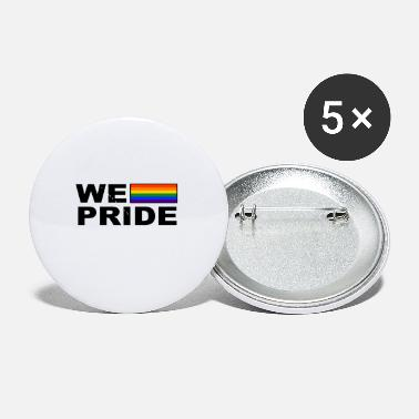Gay Rights We Pride LGBT Gay Pride CSD Tolerance Respect - Small Buttons