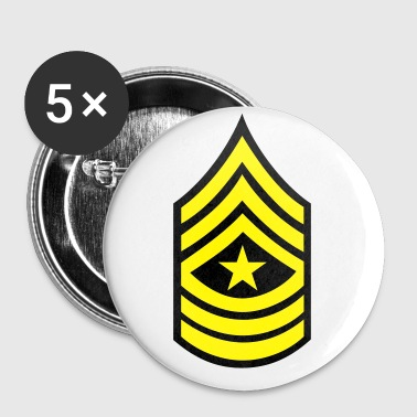army rank patch sergeant major - Small Buttons