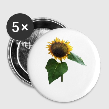 Bowing Sunflower - Small Buttons