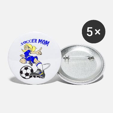 SOCCER MOM - Small Buttons