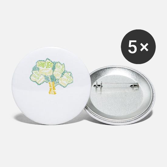 Young Money Buttons - Jong Duk Young Ja - Small Buttons white