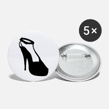 Highheels Vector highheels Silhouette - Small Buttons