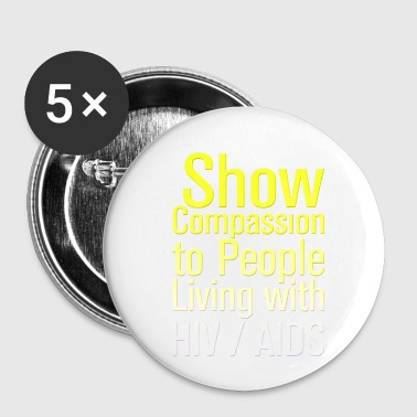 Hiv AIDS Awareness HIV AIDS - Small Buttons