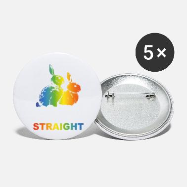 Schwul LGBT Too cute to be straight - Small Buttons