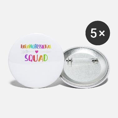 Paraprofessional Paraprofessional squad - Small Buttons