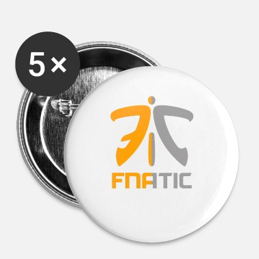 Collections Collection Fnatic - Buttons small 1'' (5-pack)