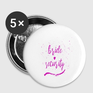 bride security 3 - Small Buttons