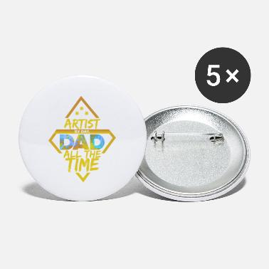 Whiz Whiz Dad - Small Buttons