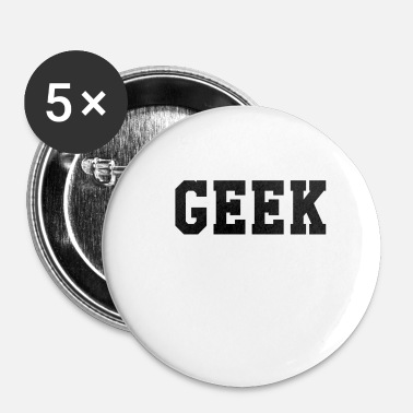 Geek Geek - Small Buttons