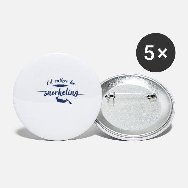 Snorkeling Dive Snorkel Diving Snorkeler Snorkeling - Small Buttons