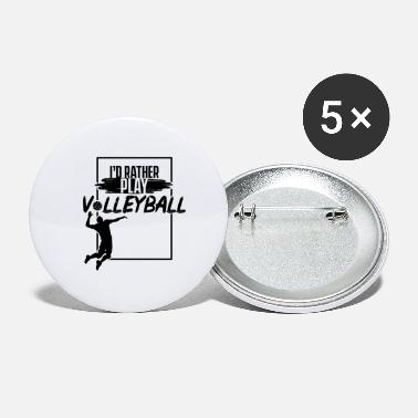 Volleyball Volleyball Volleyball Volleyball Volleyball - Small Buttons