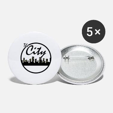 City The city - Small Buttons