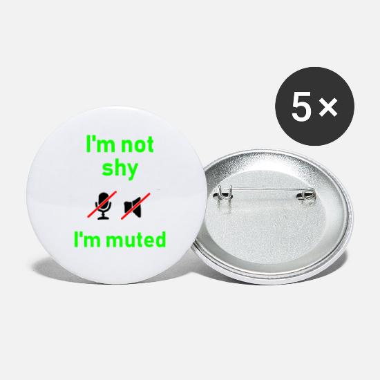Date Buttons - Nerd - Small Buttons white