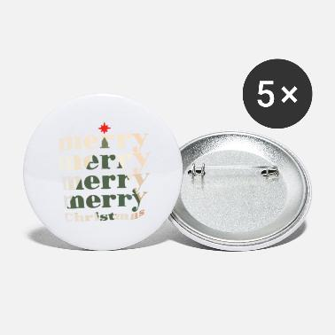 Merry Merry merry merry merry Christmas - Small Buttons
