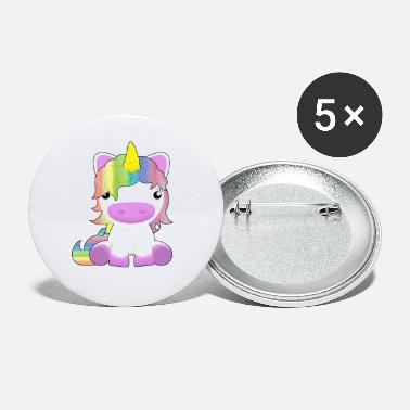 Fine cute little unicorn gift for the daughter - Small Buttons