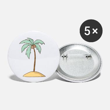 Palm Trees Palm Tree - Small Buttons