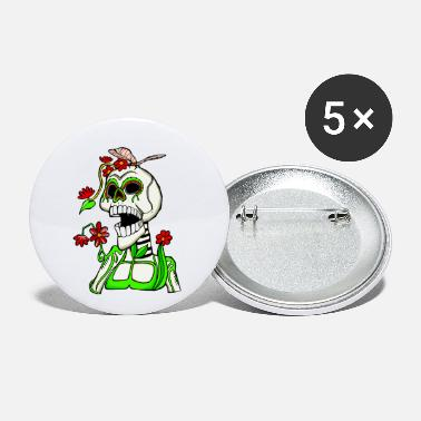 Day Of The Dead Day of the Dead - Small Buttons
