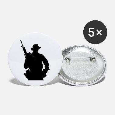 Grenadier Army Ranger, Soldier, Mercenary - Small Buttons