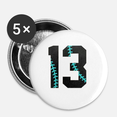 Birthday 13th Birthday Gifts 2004 Baseball - Buttons small 1'' (5-pack)