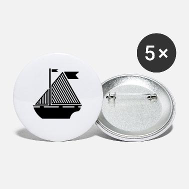Boating Boat - Small Buttons