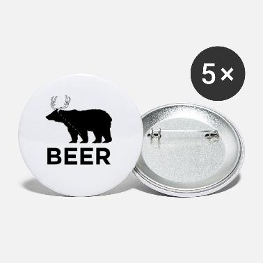 Bear Deer - Small Buttons