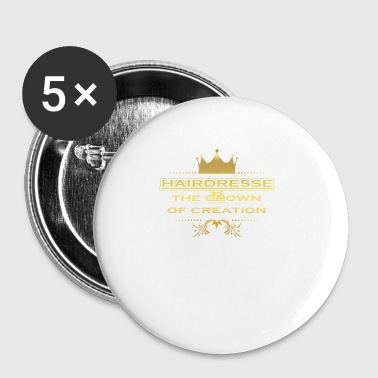CRONE KING CREATION MASTER GIFT HAIRDRESSER - Small Buttons