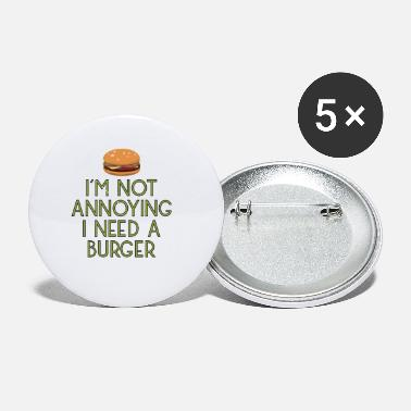 burger fast food imbiss beef hamburger pommes17 - Small Buttons