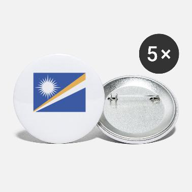 Marshall Flag of Marshall Islands (mh) - Small Buttons
