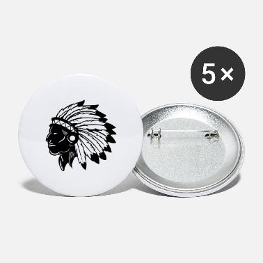 American Indian American Indian - Small Buttons