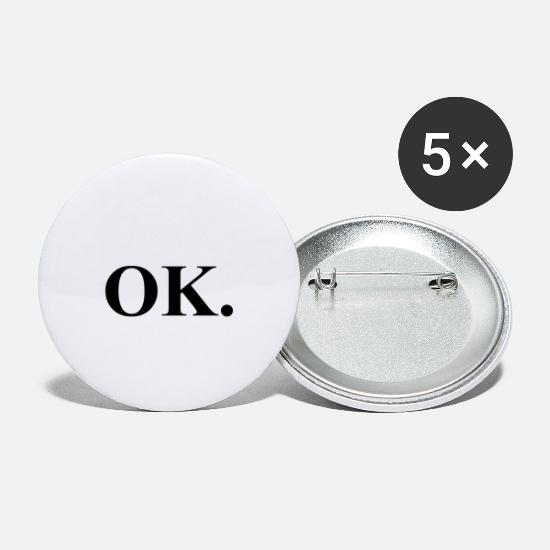 Friends Buttons - ok - Small Buttons white
