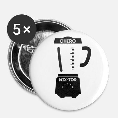 Chiropractic Blender Mix Tor - Buttons small 1'' (5-pack)