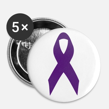 purple ribbon - Small Buttons