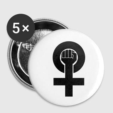 Power Symbol Female Power Symbol - Small Buttons
