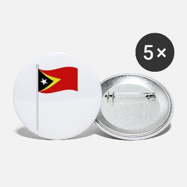East Frisia flag of east timor - Small Buttons
