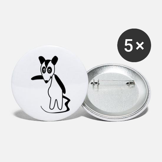 Possum Buttons - Possum - Small Buttons white