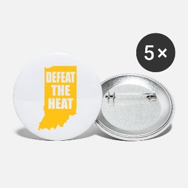 Heat defeat the heat - Small Buttons