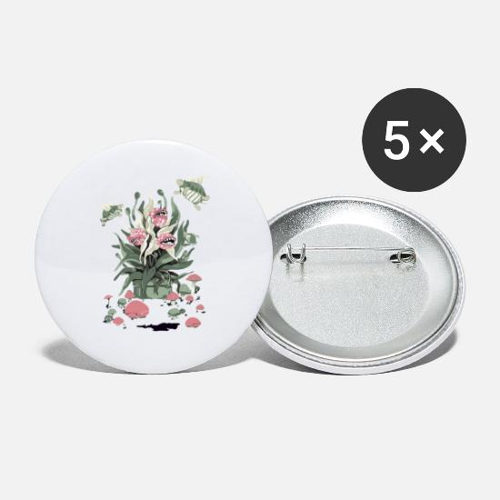 Superbotanical Buttons - A Superbotanical Study Remix - Small Buttons white