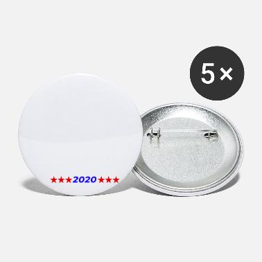 No more racist remarks 2020 Election Anti Trump - Small Buttons
