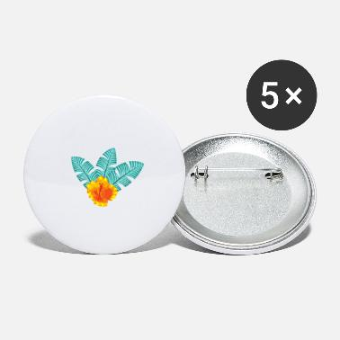 Hawaii Flower - Small Buttons
