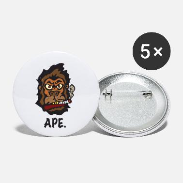Ape Ape - Small Buttons
