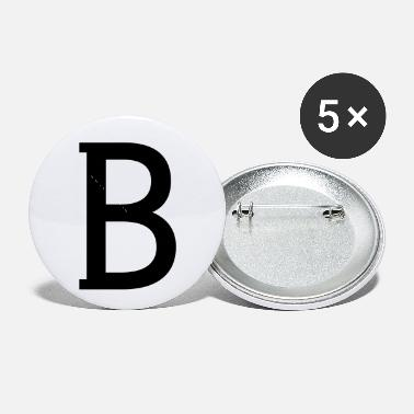 Billionaires b - Small Buttons