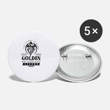 Golden GOLDEN - Small Buttons