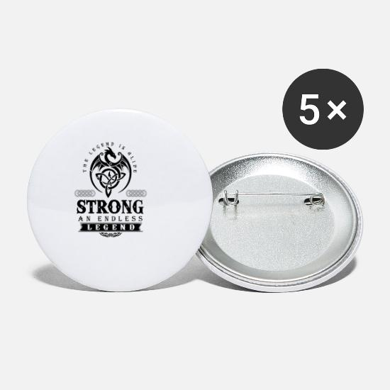 Strong Buttons - STRONG - Small Buttons white