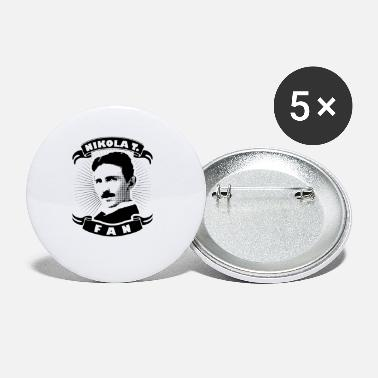nikola tesla genius electric lightning voltage fan - Small Buttons