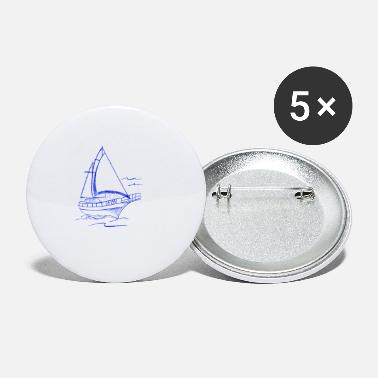 Sailing Boat sail boat - Small Buttons