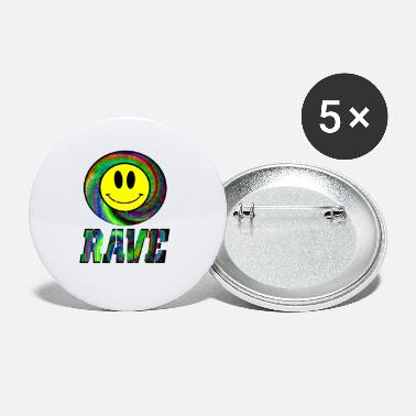 Rave rave rave black out - Small Buttons