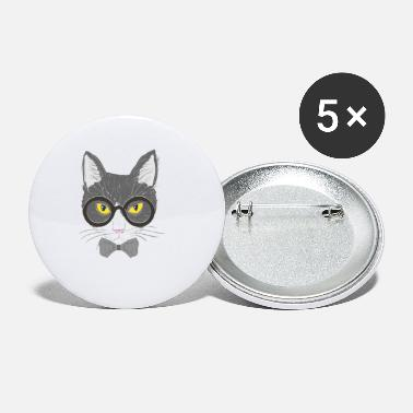 Catsofinstagram Hipster cat - Small Buttons